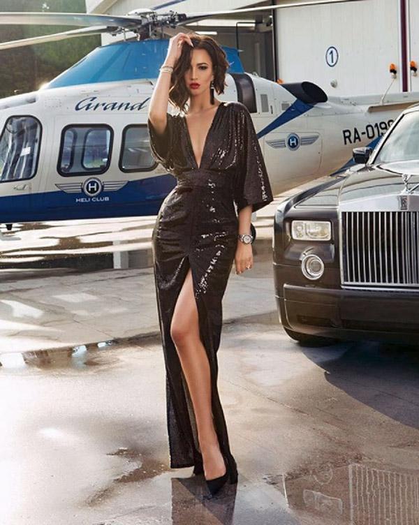 Russian model Olga Buzova (Photo: Instagram)
