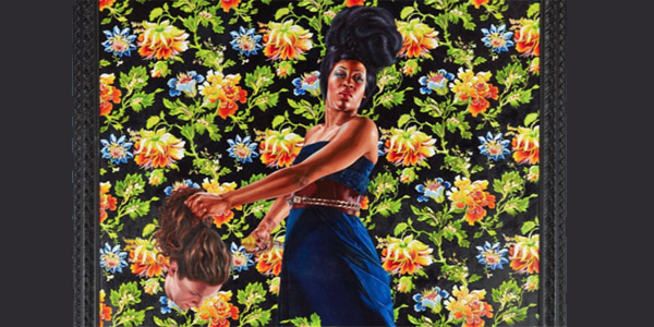 Obama artist paints black women holding severed white heads