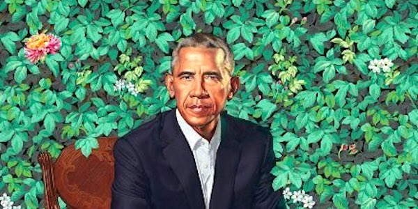 Official portrait of Barack Obama unveiled in February 2018