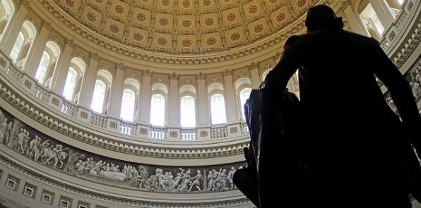 U.S. Capitol rotunda (Matt H. Wade, Wikipedia)