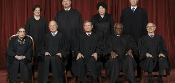 U.S. Supreme Court in 2017 (Wikipedia)
