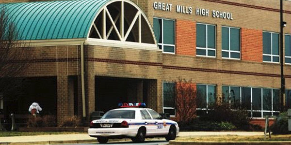 """great mills guys A """"resource officer"""" at great mills high school in southern maryland responded within 60 seconds to reports of just another day in good guys with guns."""