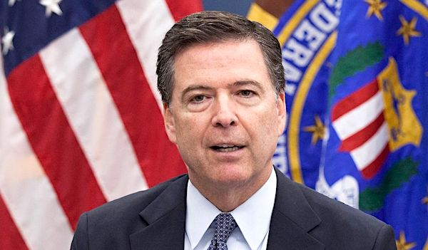 James Comey (FBI photo)