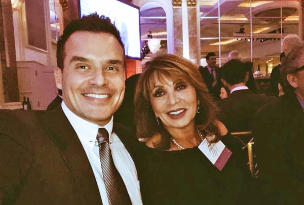 Antonio Sabato Jr. and his mother
