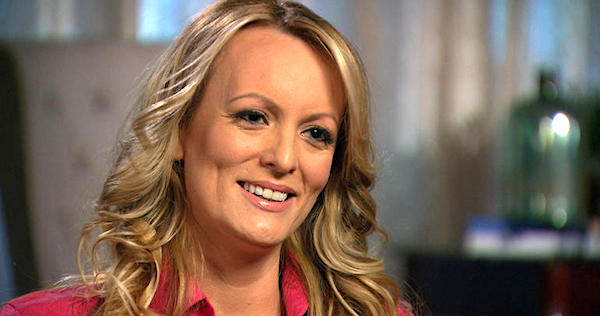 "Stormy Daniels appearing on CBS' ""60 Minutes"""