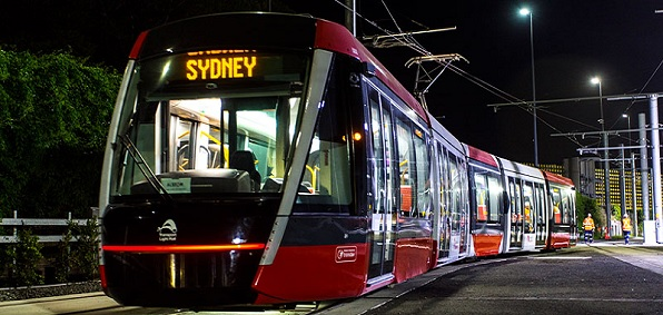 Sydney lite rail (Source Transport of New South Wales)