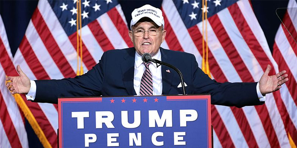 Rudy Giuliani is joining Trump's legal team