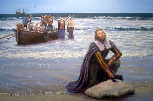 Landing of the Pilgrims by Dr. Mike Haywood