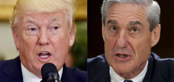President Trump and special counsel Robert Mueller