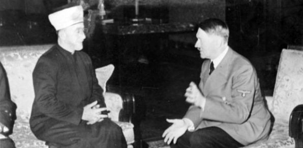 Haj Amin al-Husseini with Adolf Hitler