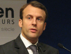 French President Emmanuel Macron (Wikimedia Commons)