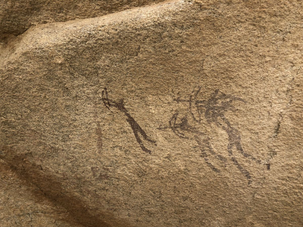 Archer petroglyph (Joel Richardson)