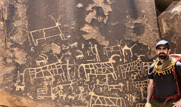 Egyptian bull petroglyphs (Courtesy Joel Richardson)