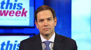 Marco Rubio on ABC's 'This Week' May 27, 2018 (Broadcast screenshot)