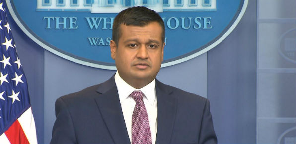 White House deputy press secretary Raj Shah