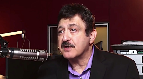 "George Noory of ""Coast to Coast AM"" (YouTube video screenshot)"