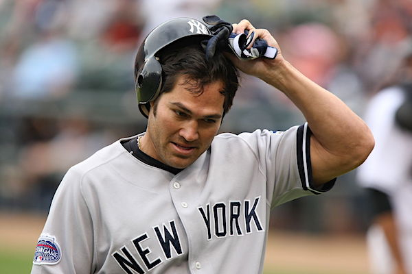 Johnny Damon (Photo by Keith Allison, courtesy Flickr/Wikimedia Commons)