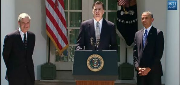 James Comey speaks at the White House following his nomination by President Barack Obama to be the next director of the FBI, 21 June 2013 (White House photo)