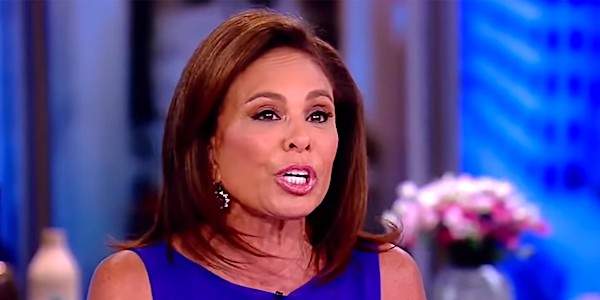 "Judge Jeanine Pirro appearing on ABC's ""The View"" (screenshot)"