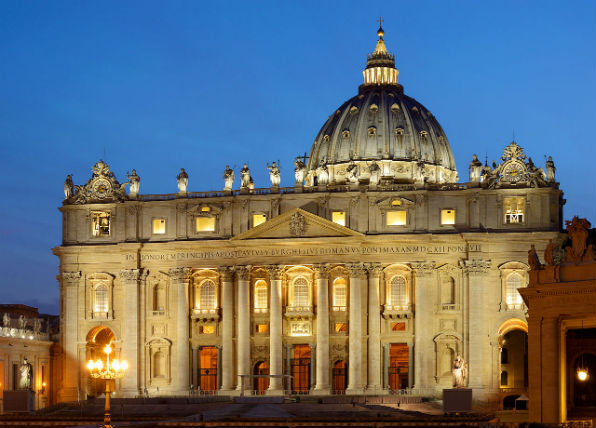St. Peter's Basilica (Wikimedia Commons)