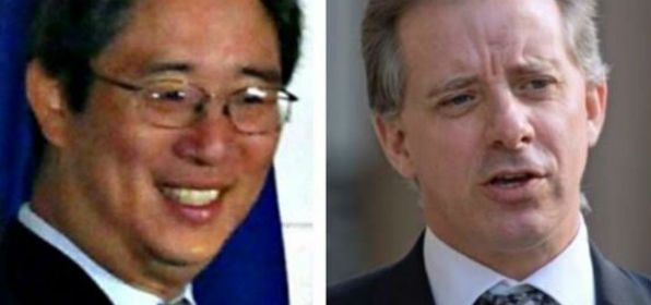 Bruce Ohr and Christopher Steele