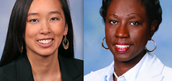 Michigan state Reps. Stephanie Chang and Bettie Cook