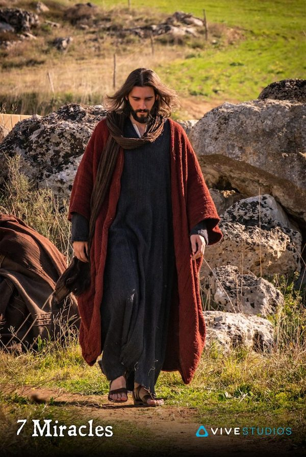 "Jesus walking in ""7 Miracles"""