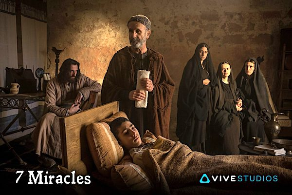 "A healing scene from ""7 Miracles"" (Vive Studios)"