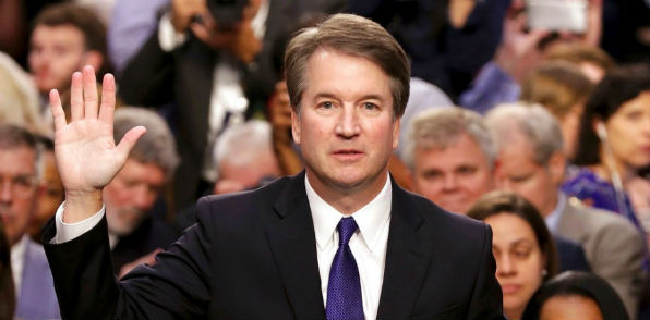 Judge Brett Kavanaugh sworn in to Senate Judiciary Committee