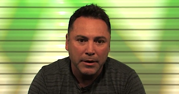 Oscar de La Hoya (TMZSports video screenshot)