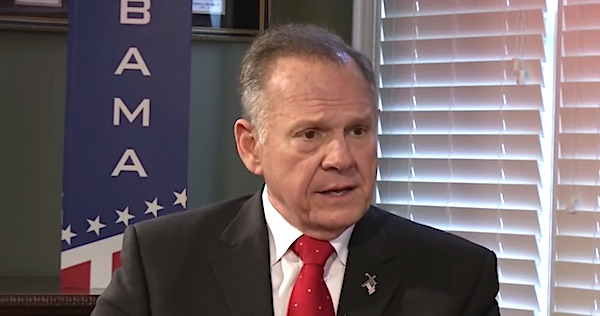 Roy Moore (Voice of Alabama Politics video screenshot)