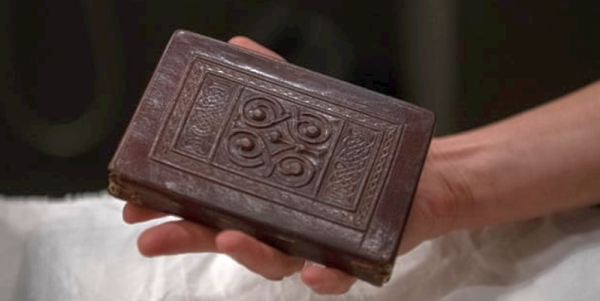 St. Cuthbert's Gospel – the oldest example of an intact book