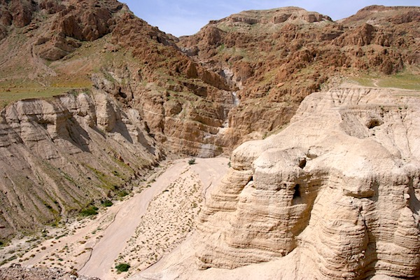The Dead Sea Scrolls were found in caves in Qumran in the Judean Desert. (Pixabay photo)