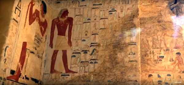 Egyptian tomb (YouTube screenshot)