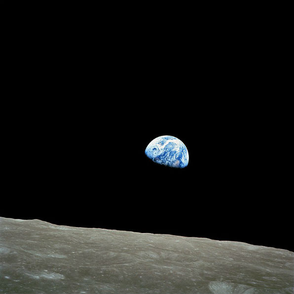 Remembering 1968: Apollo 8's Christmas greeting from the moon