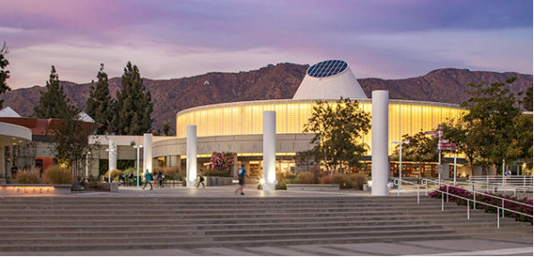 Azusa Pacific University campus in Azusa, California