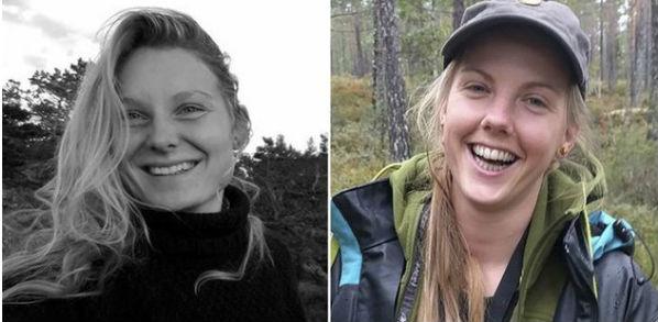 Louisa Vesterager Jespersen, 24, and Maren Ueland, 28.