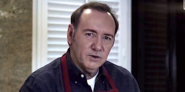 Kevin Spacey in a video he posted titled, 'Let Me Be Frank' (YouTube screenshot)