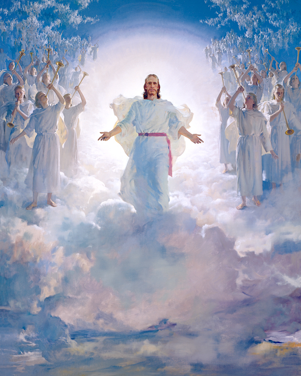 """The Second Coming"" painting by Harry Anderson (image courtesy The Church of Jesus Christ of Latter-day Saints)"