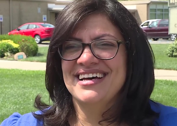 U.S. Rep. Rashida Tlaib, D-Mich. (Voice of America photo, public domain)