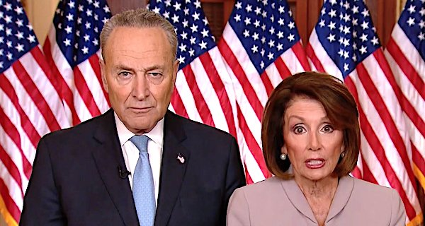 Sen. Chuck Schumer, D-N.Y., and Rep. Nancy Pelosi, D-Calif.