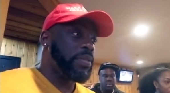 YouTube personality Tommy Sotomayor says a Hooters waitress denied him service because of his support for President Trump (Screenshot YouTube)