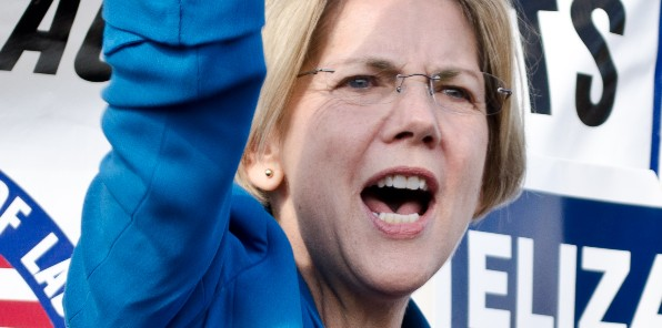 Sen. Elizabeth Warren, D-Mass. (Wikimedia Commons)