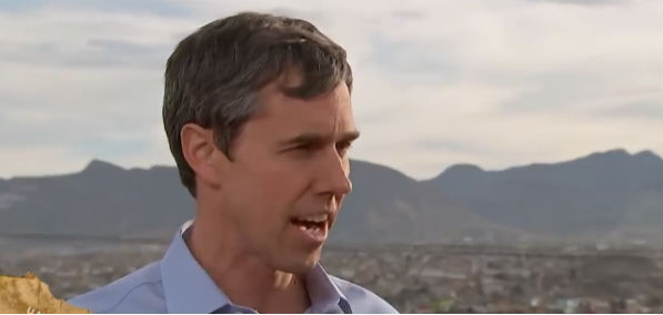 Former Rep. Beto O'Rourke of Texas speaks to MSNBC on the southern border (Screenshot MSNBC)