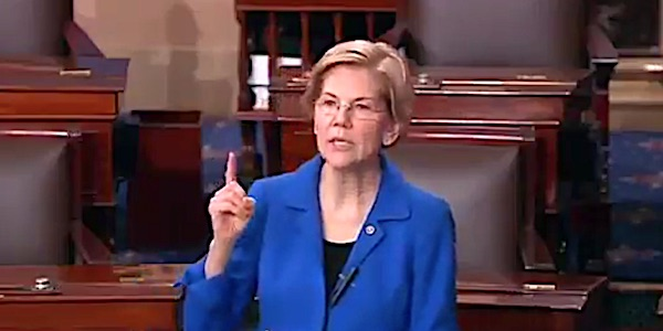 U.S. Sen. Elizabeth Warren, D-Mass. (Senate video screenshot)