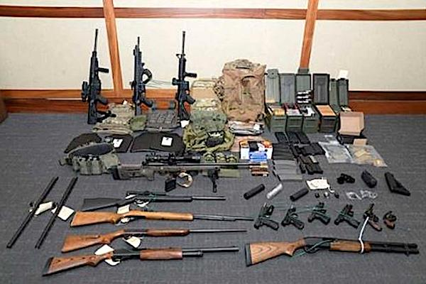 US Coast Guard officer arrested for mass murder plot