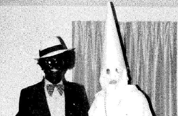 Ralph Northam's 1984 yearbook page from Eastern Virginia Medical School features this photo