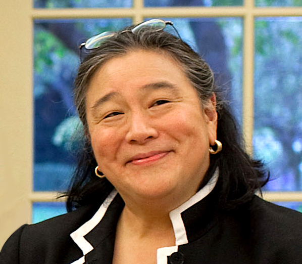 Tina Tchen in the White House, Oct. 14, 2009. (White House photo)