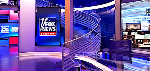 Fox News Studio (courtesy Fox News Channel)