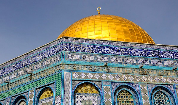The Al-Aqsa Mosque on the Temple Mount in Jerusalem, Israel (image courtesy Pixabay)